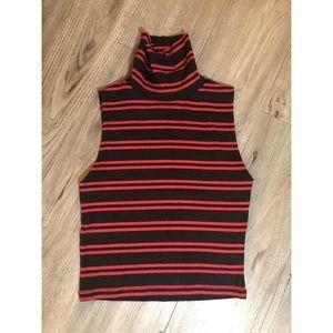 🔥SALE- any 4/$20  Zara sleeveless turtle neck top